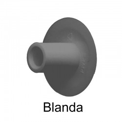 Remache Técnico 20 mm Negro Blanda