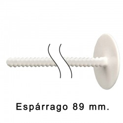 Remache Económico Macho 89 mm. Blanco