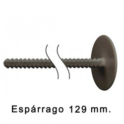 Remache Económico Macho 129 mm Negro